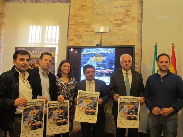 Presentación del II Rally Jaén Mar de Olivos