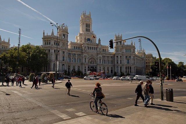 Plaza de Cibeles, Madrid.