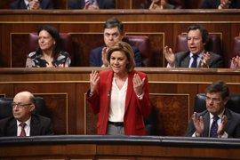 """Cospedal ve """"perfectamente reconducible"""" la relación con Cs tras su alianza con PSOE y Podemos"""