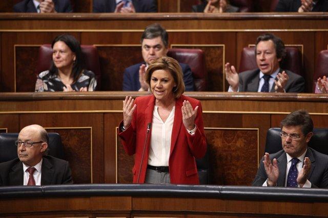 María Dolores de Cospedal en el Congreso