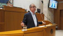 Gimeno dice que no aprobar los PGE tiene peores consecuencias que el retraso del Presupuesto de Aragón