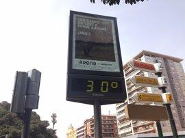 Manises supera por primera vez los 30ºC en invierno, según Aemet