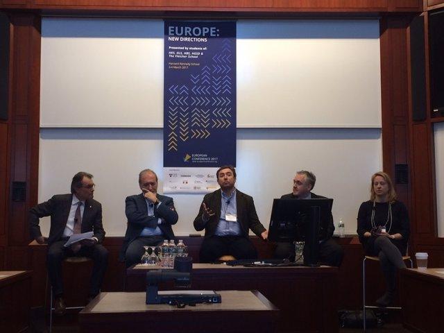 Artur Mas participa en la European Conference 2017 de la Harvard Kennedy School