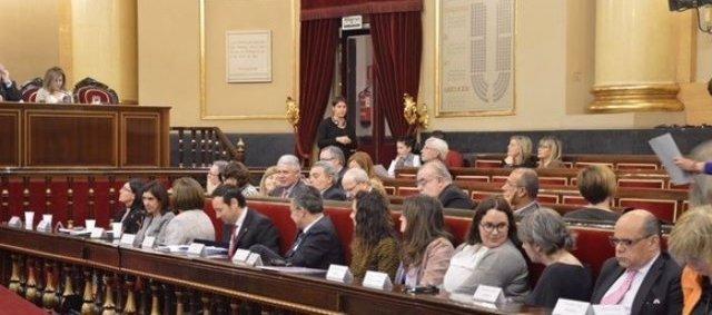 La directora del IAM, Natalia Salvo, en el Senado