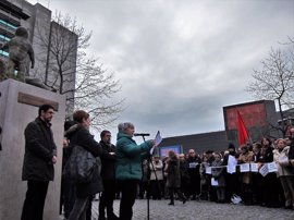 Las víctimas de ETA no acudirán a la concentración convocada por el Gobierno foral contra el terrorismo