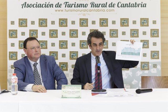Martín clausura una jornada de la Asociación de Turismo Rural