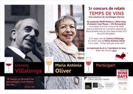 'Temps de vins', el nuevo concurso que marida vinos y literatura