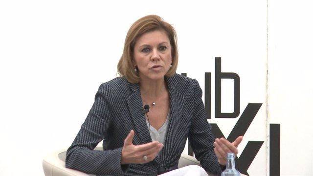 """Cospedal ve """"reconducible"""" la relación con Ciudadanos"""