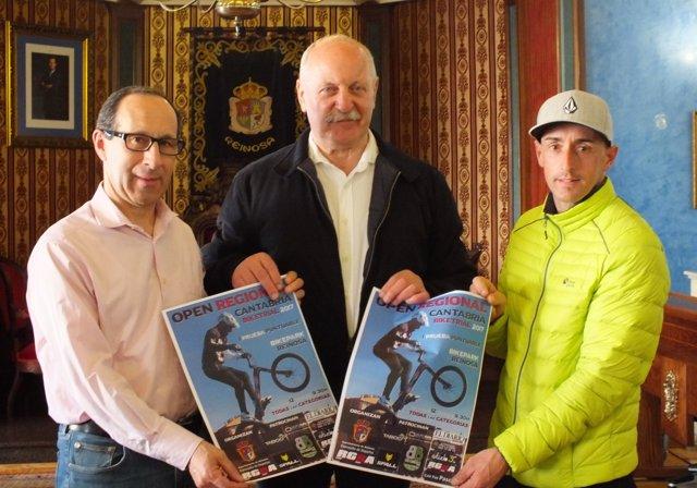 Reinosa/ Imagen Presentación Primera Prueba Campeonato Regional De Bike Trial