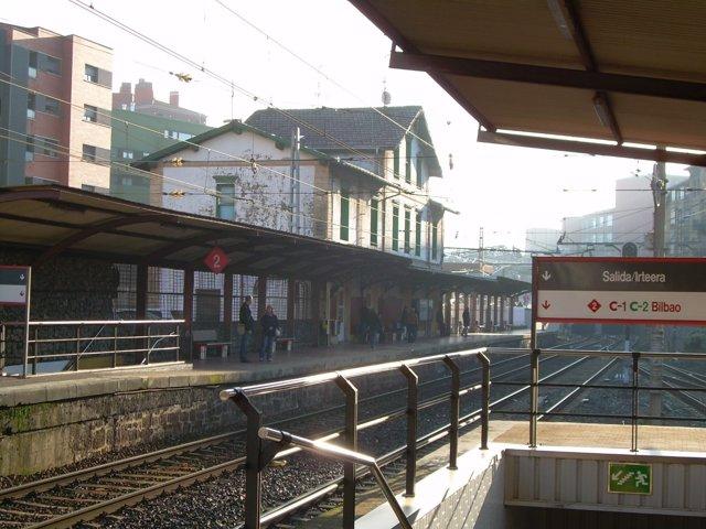 Estación de Renfe en Barakaldo