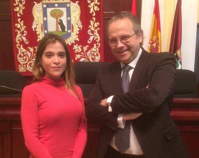Antonieta Ledezma y Antonio Miguel Carmona