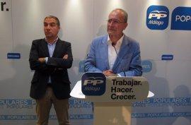 """Bendodo dice que el alcalde """"siempre piensa en lo mejor"""" para Málaga y lo que haya dicho """"bien dicho está"""""""