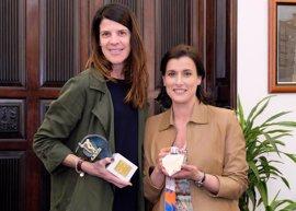Santander inicia una campaña para la candidatura de Ruth Beitia al Premio Princesa de Asturias