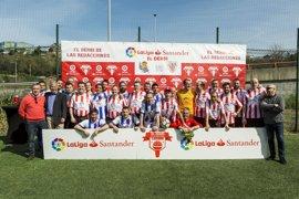 El Athletic Club vence a la Real Sociedad en el 'Derbi de las Redacciones' de la Liga Santander