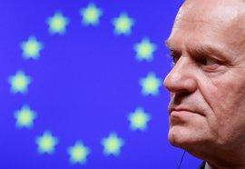 """Tusk dice que su renovación es la """"expresión de unidad"""" en la UE y promete trabajar """"con todos"""""""