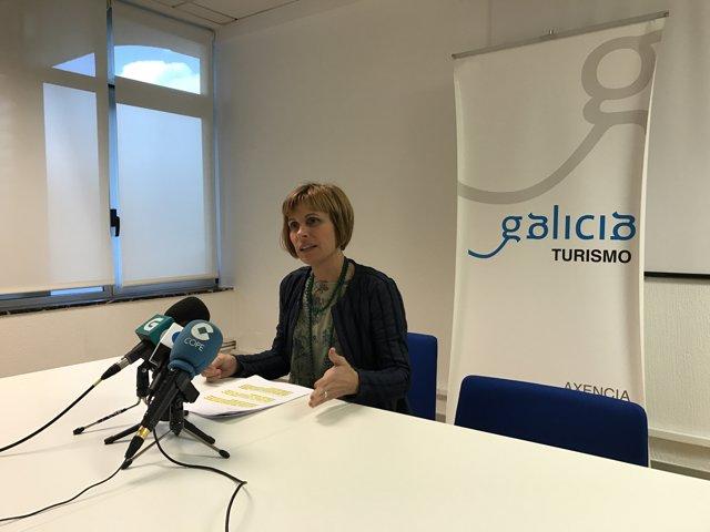 La directora de Turismo de Galicia, Nava Castro