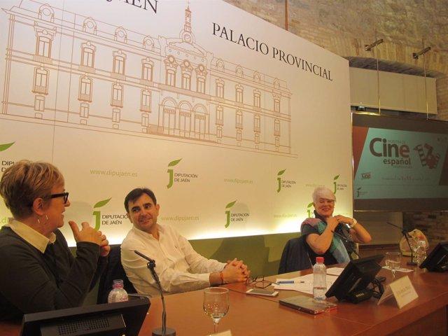 Presentación de 'Acantilado' y 'Secuestro' en Jaén