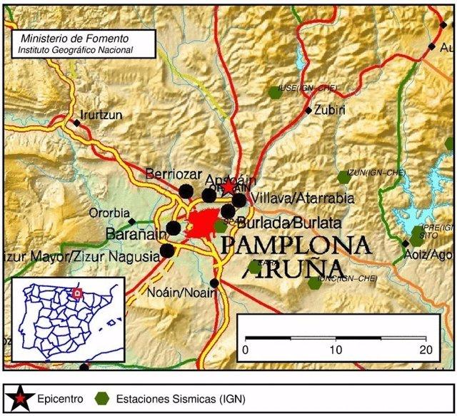 Terremoto en Navarra