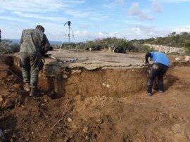 Comienzan de los trabajos para la protección de la Torre de Defensa de Rafaubetx, Mallorca