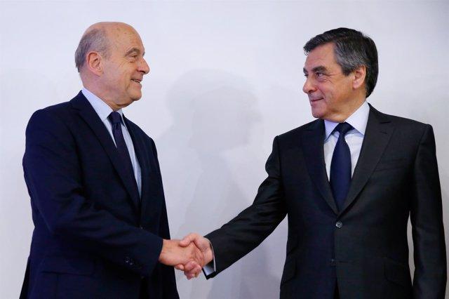 Francois Fillon y Alain Juppe