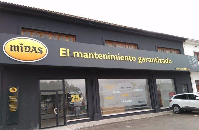 Centro de Midas en Ronda (Málaga)
