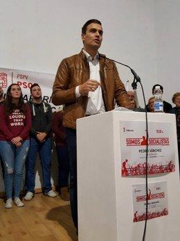 Pedro Sánchez en Castellón