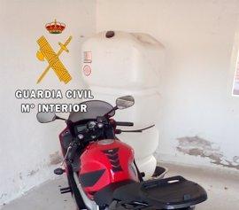 Detenido un joven por robar una moto en Argés que ocultaba en un vivienda ocupada