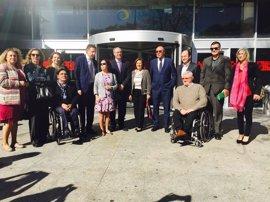 Junta valora el Cermi para la mejora de la situación de las mujeres y niñas con discapacidad