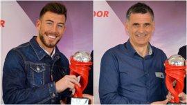 El Eibar acapara los premios mensuales de la Liga Santander