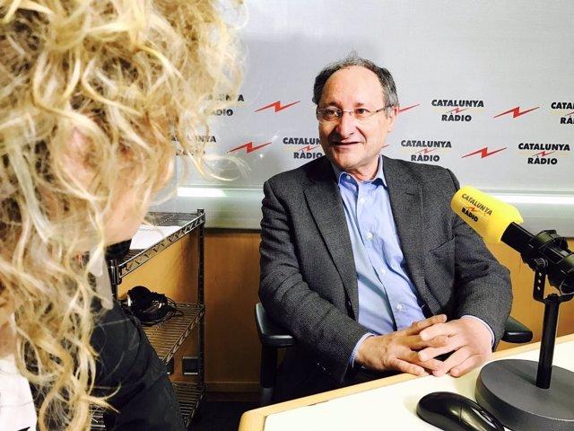 El exdirector general del Palau de la Música Catalana Joan Llinares
