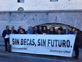 """Alumnos de la UN afectados por el cambio de becas piden """"salir de la inseguridad jurídica"""""""