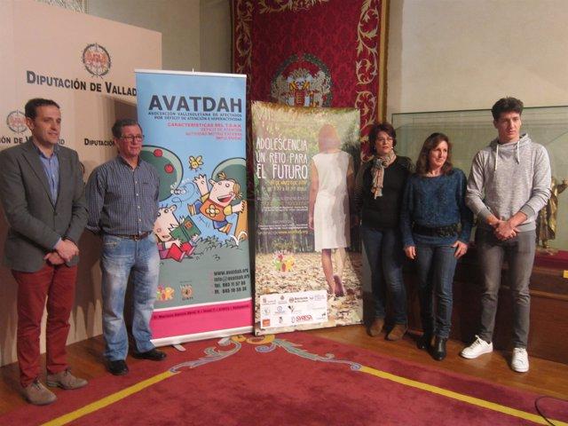 Valladolid. Presentación de la jornada sobre TDAH