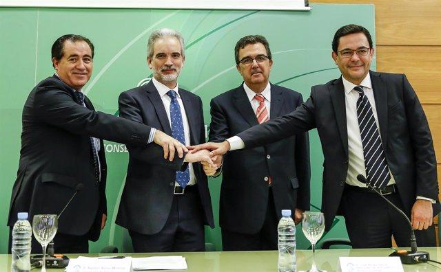 Fundación Amancio Ortega y SAS firman convenio de nuevos equipos para el cáncer