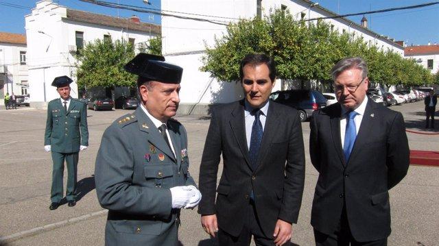 José Antonio Nieto con Francisco Fuentes y Juan José Primo Jurado