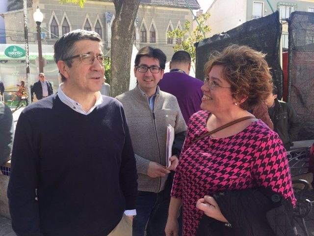 Patxi López (PSOE) en Cieza