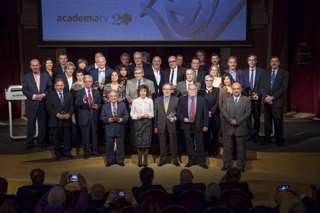 Galardonados con los Premis Talento de la Academia de Televisión