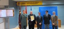Guardia Civil recupera un libro bautismal del siglo XVII de parroquia de San Andrés que desapareció en la Guerra Civil