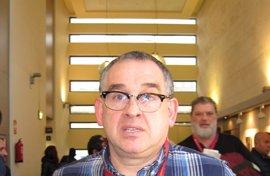 Víctor Roza, reelegido secretario general de CCOO Gijón, con 89 votos a favor