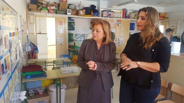Imagen de la visita al centro