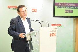 """El PSOE-A acusa al Gobierno de """"bloquear"""" infraestructuras ferroviarias en Andalucía"""