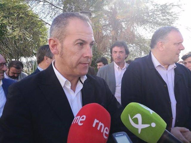Alfredo Aguilera, alcalde de Malpartida de Cáceres