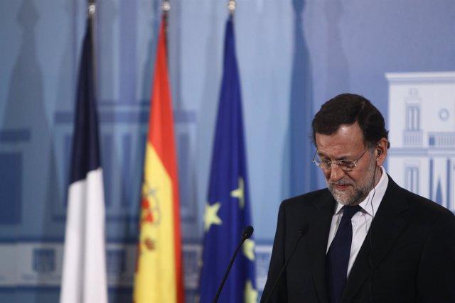 Mariano Rajoy En Rueda De Prensa En La Moncloa