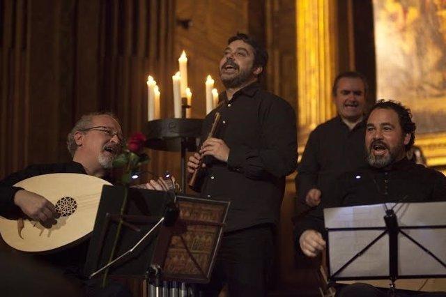 El grupo de música medieval 'Artefactum'.
