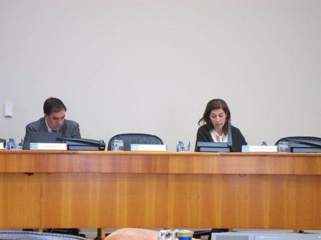 La directora xeral de Desenvolvemento Pesqueiro, Susana Rodríguez