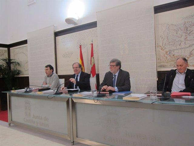 Valladolid: Herrera tras la firma de los 5 acuerdos