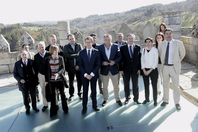 Feijóo visita el Castelo de Pambre