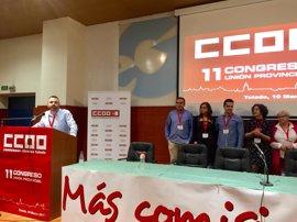 Arroyo, elegido secretario general de CCOO Toledo con un 89,36% de los apoyos