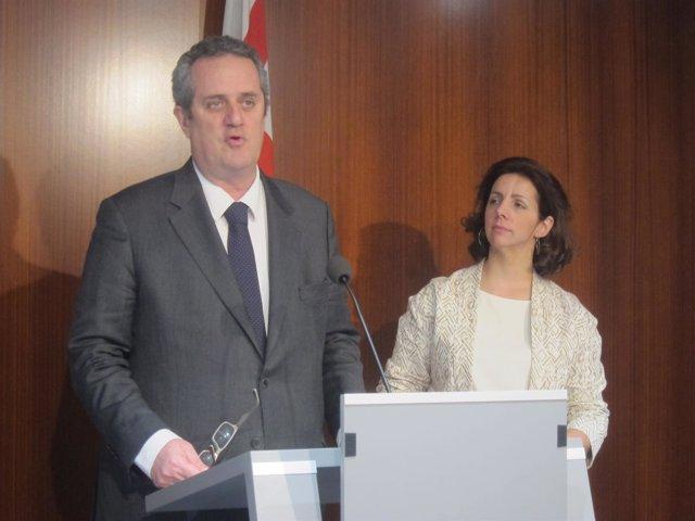 Joaquim Forn, Francina Vila (CiU de Barcelona)