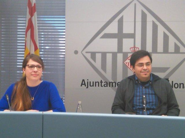 Gerardo Pisarello y Janet Sanz