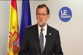 """Rajoy dice que se está """"involucrando"""" para aprobar el Presupuesto y se ha reunido con dirigentes de PNV y otros partidos"""
